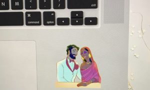 Indian Wedding Sticker